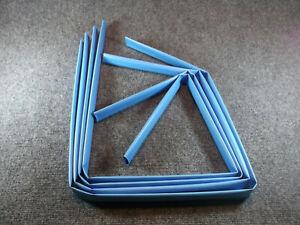 """BLUE SHRINK TUBING 3/4""""x48"""" ***QTY=4 pcs. 16 feet total*** Sumitomo Elec."""