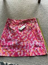 Nwt Clover by Bobby Jones Golf Skirt Skort Pink Ladies Women's Size 4 Msrp $108