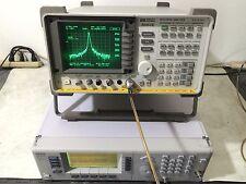 HP Agilent 8563E Spectrum Analyzer 30 hz - 50 GHZ w/ TRACKING GENERATOR opt 6,8