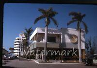 1964 kodachrome photo slide three Crowns hotel Florida FL