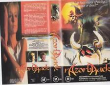 Horror R Rated PAL VHS Movies