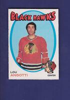 Lou Angotti 1971-72 O-PEE-CHEE Hockey #212 (EX)