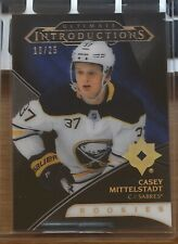 18/19 UD ULTIMATE - CASEY MITTELSTADT RC - #18/25 - BLACK - INTRODUCTIONS