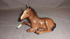 Beswick Horses - Brown Foal (Lying) No.915 1941-1989