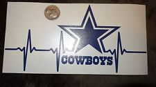 Dallas Cowboys Dark Blue Life car decal