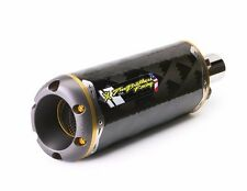 06-07 GSXR 750 Two Brothers Carbon Fiber Slip On Exhaust 2006 2007 GSXR750