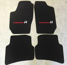Autoteppiche Fußmatten für Seat Ibiza Cupra R Typ 6L 2002-2009 rot weiss Neu