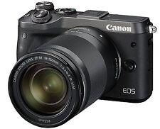 Canon EOS M6 Digital Camera EF-M18-150mm F3.5-6.3 Lens Kit Black *Free Shipping*