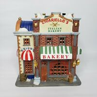 Lemax Chiariellos Italian Bakery 2002 Lighted Christmas Village 8 piece set