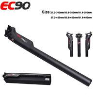 EC90 3K Carbon Fiber MTB Road Bike Seatpost Seat Tube 27.2/30.8/31.6*350/400mm