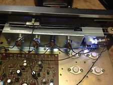 Vintage Pioneer SX-440 front panel LED lamps kit warm white color.