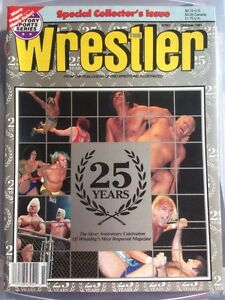 The Wrestler Special Collectors Magazine 25 Years Rare Vintage Mint Wrestling