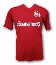 Toluca Diablos Rojos Chorizeros Men's Home 2017 Soccer Jersey Made in Mexico