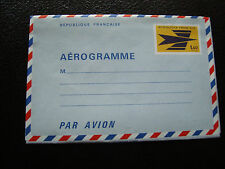 FRANCE - aerogramme 1970/1975 (cy80) french