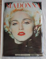 calendrier / calendar Madonna - 1992  Neuf