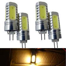 4pcs DC 12V G4 Base SMD 7.5W Warm White Lamp Light Bulb Bi-Pin for Boat RV