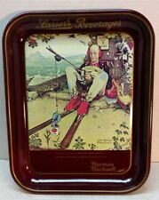 Vintage Lasser's Beverages tray Norman Rockwell 1977 April Fools Day 1945 cover