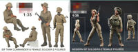 1//35 Blackdog Models ISRAELI WOMAN SOLDIER Resin Figure 2020 Q7F4