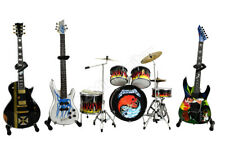 Metallica Miniature Guitars and Drum Mega Set