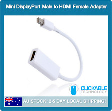 Mini DisplayPort DP to HDMI Display Port Cable Adapter For Apple MacBook Air Pro