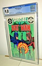Batman Special #1, CGC 9.8, White Pages