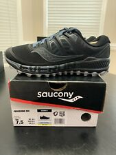 Saucony Peregrine ISO Trail Running / Hiking Shoes Men's Size 7.5- Black / Gray