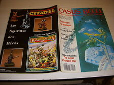 CASUS BELLI 49 01.1989 James BOND 007 Le CHATEAU FORT ZELAZNY AMBRE TANK LEADER