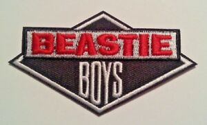 """Beastie Boys~Embroidered Applique Patch~3 1/2"""" x 2""""~Iron Sew~FREE US Mail"""