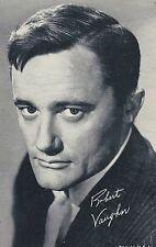 Robert Vaughn Penny Arcade Card 3 x 5 post Movie TV Star promo 1950s Nice