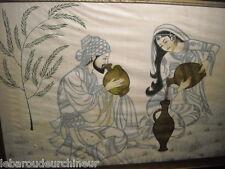 ancienne et magnifique peinture hindou inde