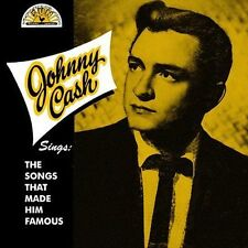 FREE US SHIP. on ANY 2 CDs! NEW CD Johnny Cash: Sings the Songs That Made Him Fa