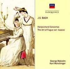 BACH Harpsichord Concertos 2CD BRAND NEW Malcolm Munchinger Decca Eloquence