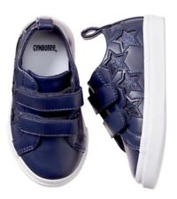 Gymboree Spring Forward Girls Blue Star Sneakers Shoes Size 8