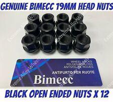 12 +4 BLACK WHEEL NUTS /& LOCK 12x1.5 BULLONI PER HYUNDAI GEX 02-11