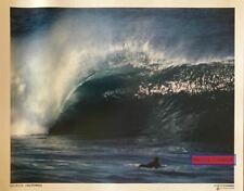 Aaron Chang Big Rock, California Surfing Photography Vintage 1995 Poster 16 x 20
