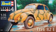 Maqueta de coche de estado mayor Volskwagen Tipo 82E de REVELL a 1/35
