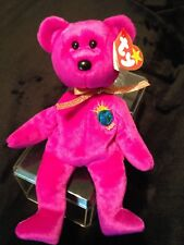 TY Beanie Baby original Millennium Bear RARE With Errors Pristine condition