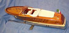 Riva Aquarama, Rennboot, Runabout Lago Di Como, Modellboot, Deko,  ca. 1:12
