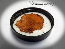 Chroma Orange Pearl Powder Pigment paint plastidip nail art soap making mica 25g