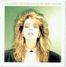 """SANDRA - 7"""" - In The Heat Of The Night  UK Picture Sleeve.  10 Records"""
