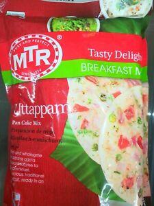 500gms MTR Instant Uttappam Mix South Indian Dosa Idli Rice Flour Pan Cake DIY