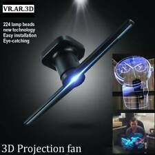 Holographic Display LED Fan Portable 3D Projector Hologram Player Display Fan