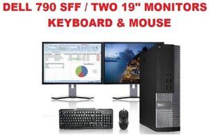 Dell OptiPlex 790 SFF (500GB HDD, Intel Core i5 2nd Gen, 3.1GHz, 4GB) PC Desktop