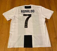 Cristiano Ronaldo Autographed / Signed Juventus Soccer Jersey - Beckett COA