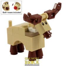 Lego Renne Rudolph-Santa 's Noël Renne de Noël-Neuf