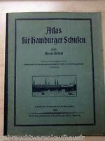 Atlas für Hamburger Schulen 1.Teil-Unsere Heimat mit eingelegten Karten-unvollsä
