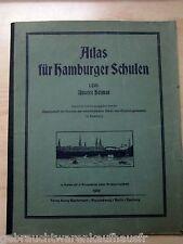 Atlas per hamburger scuole 1. parte-la nostra patria con schede presentati-unvollsä