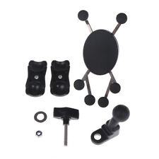 Adjustable cell phone holder motorcycle rear view mirror handlebar mount stand X