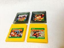 Lot of 4 Nintendo Game Boy Donkey Kong Country Gb & Land & Dixie & 2001