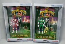 Power Rangers Flip Head Changer RED & Green RANGER Retro Legacy Auto Morphin